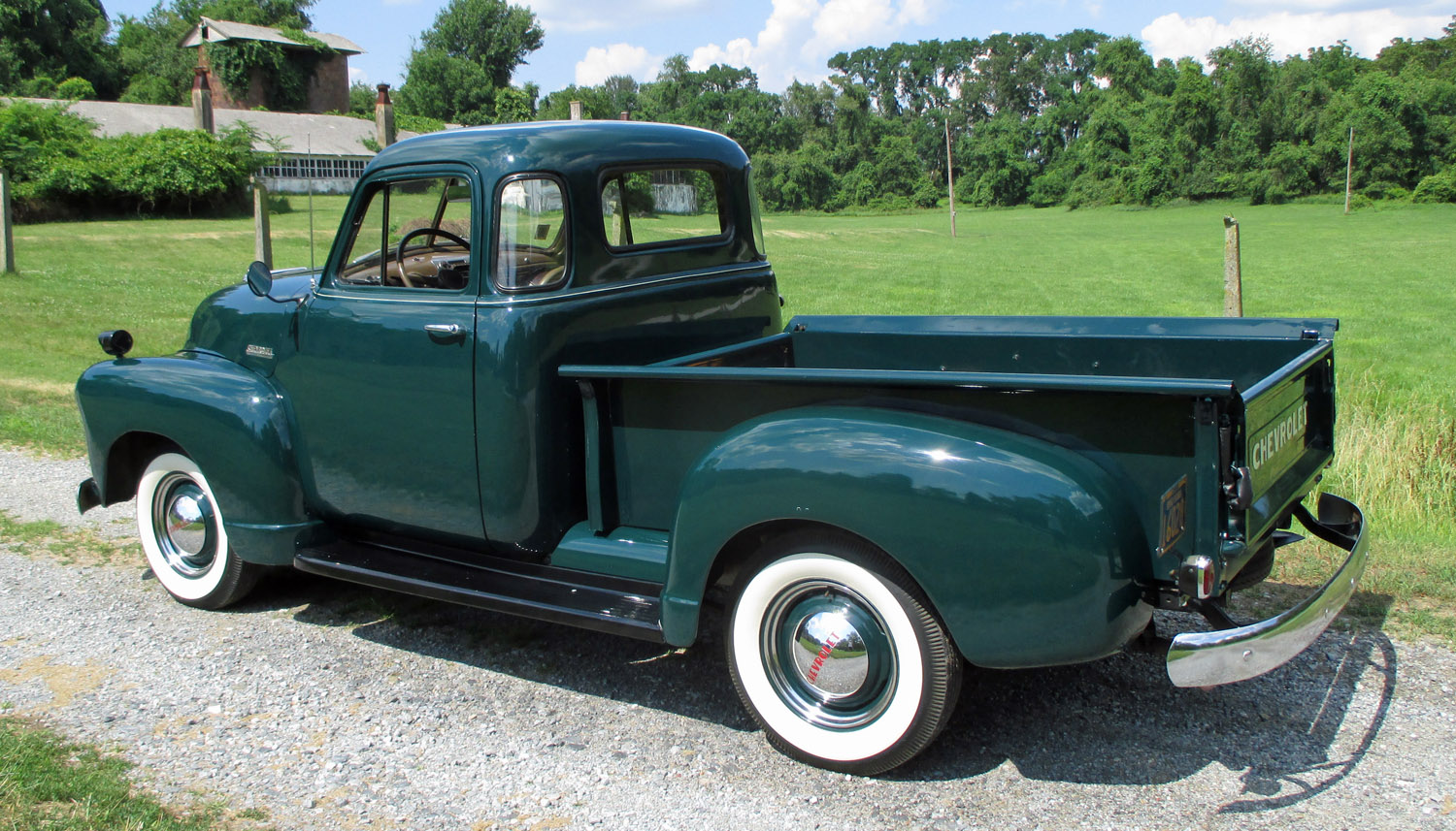 1952 chevrolet 5 window pickup connors motorcar company - Chefy 5 opiniones ...