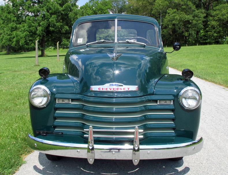 1952 1952 Chevrolet 5-Window Pickup For Sale