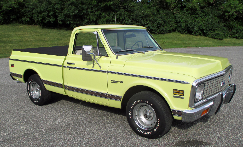 1972 Chevrolet 1 2 Ton Pickup Connors Motorcar Company