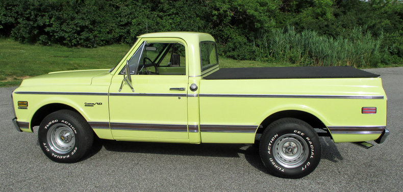 1972 1972 Chevrolet 1/2-Ton Pickup For Sale