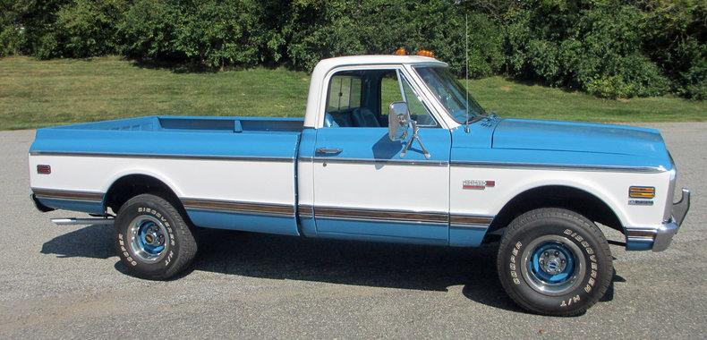 1972 1972 Chevrolet 1/2-Ton Pickup For Sale