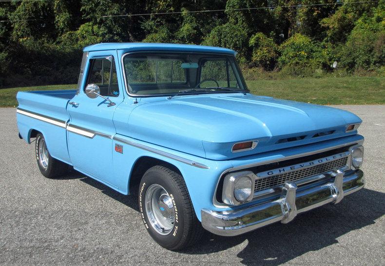 1966 1966 Chevrolet 1/2-Ton Pickup For Sale