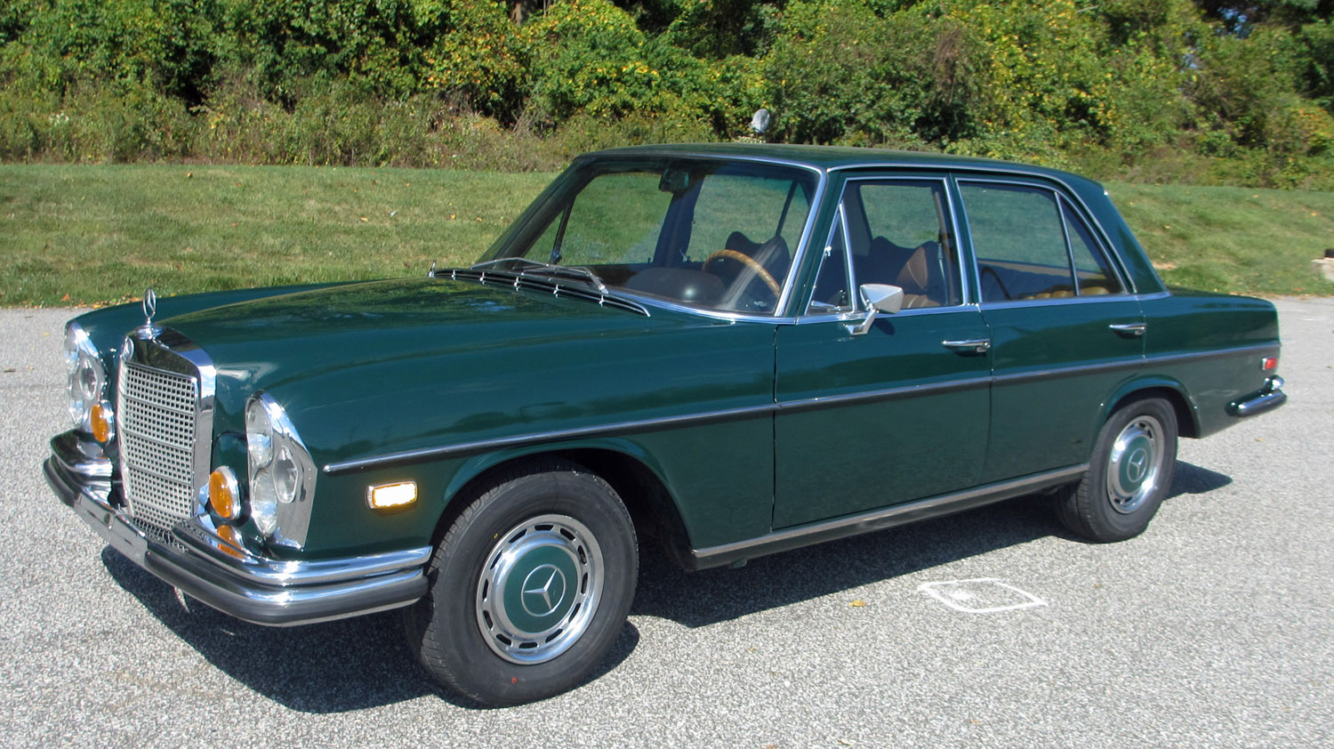 1972 mercedes benz 280se connors motorcar company for 1972 mercedes benz