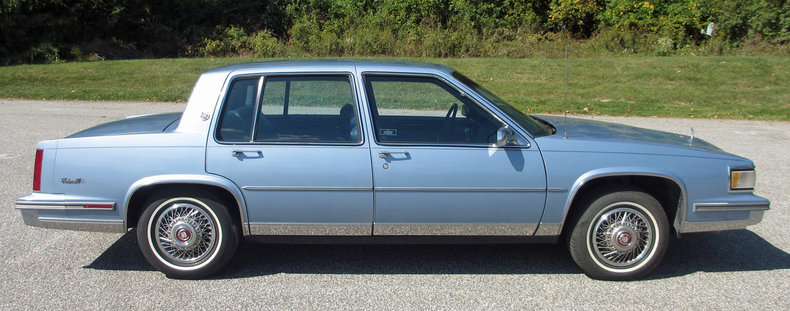 1987 1987 Cadillac Sedan DeVille For Sale