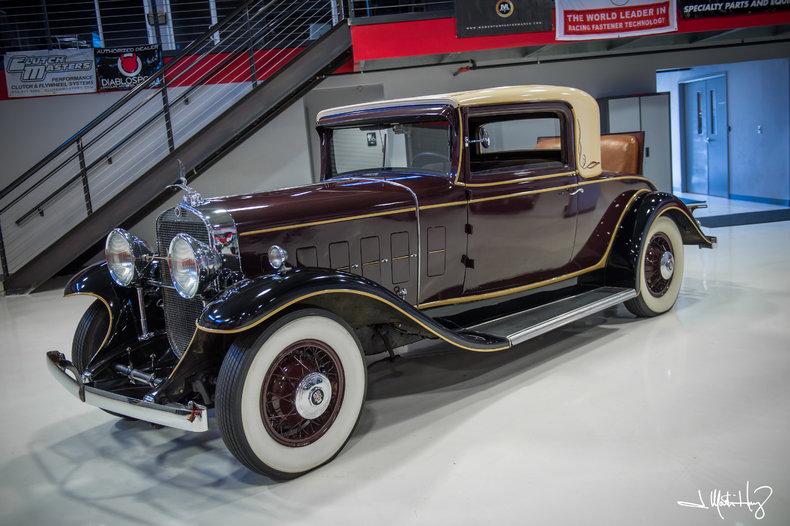1931 Cadillac 3 Window