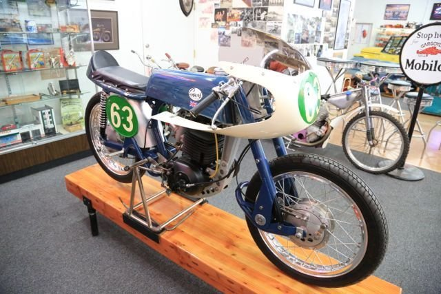 1963 Greeves factory