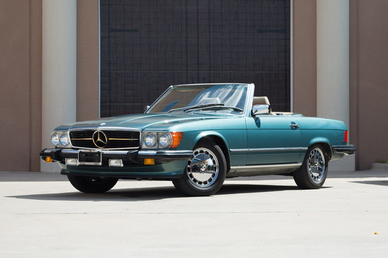 1989 mercedes benz 560sl driversource fine motorcars for Mercedes benz north houston inventory