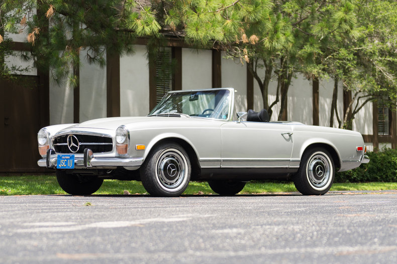 1971 mercedes benz 280sl driversource fine motorcars for Mercedes benz north houston inventory