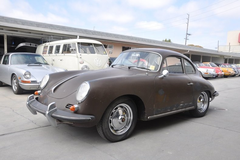 1963 Porsche 356B Super-90 Coupe