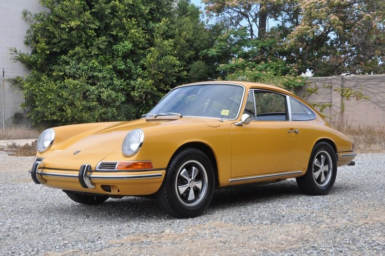 1967 porsche 911 coupe european collectibles. Black Bedroom Furniture Sets. Home Design Ideas