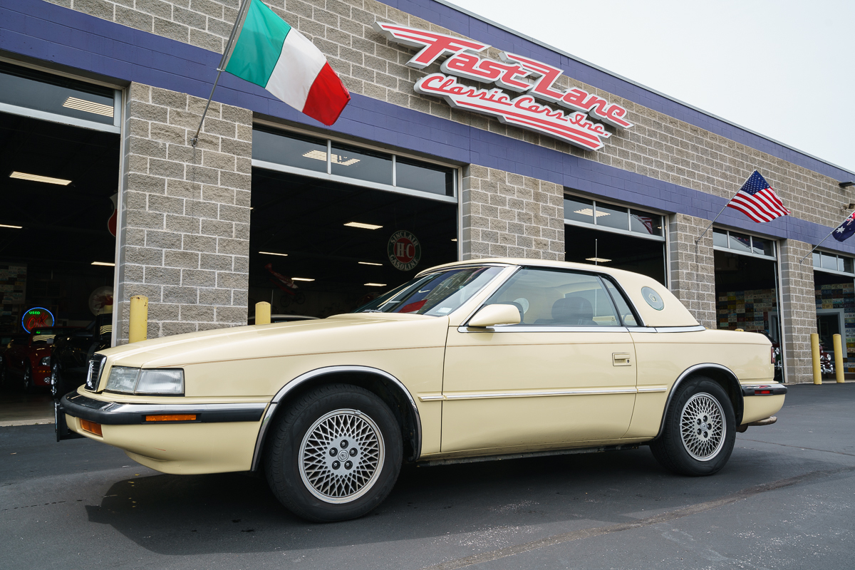 1991 chrysler tc by maserati fast lane classic cars. Cars Review. Best American Auto & Cars Review