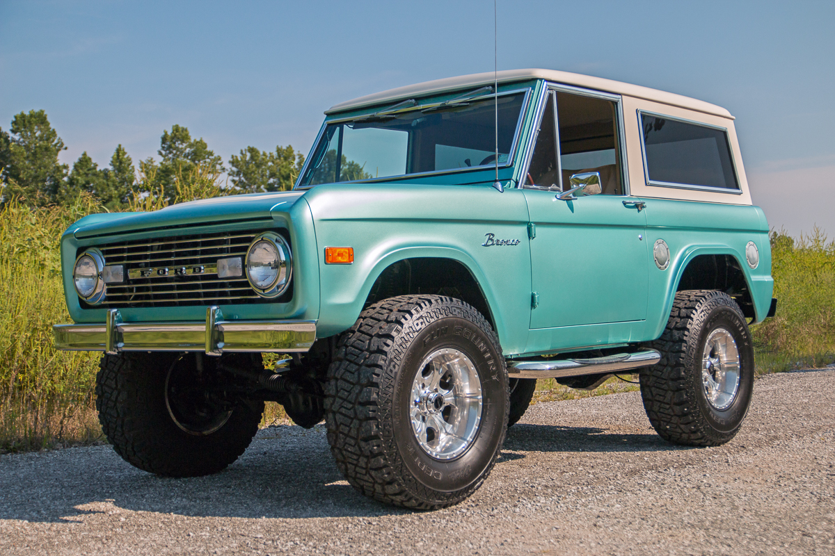 6 Door Ford Truck >> 1977 Ford Bronco | Fast Lane Classic Cars