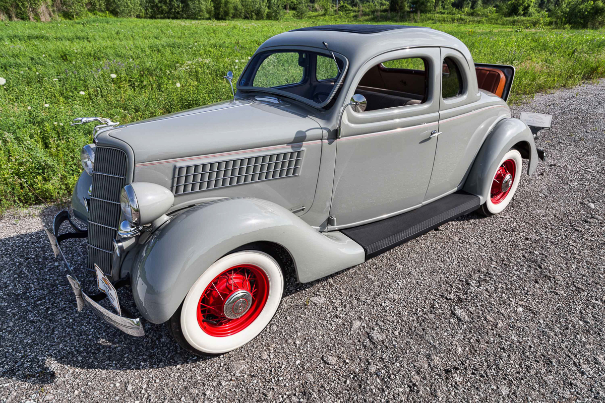 1935 ford 5 window fast lane classic cars for 1935 ford three window coupe