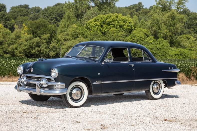 1951 ford custom deluxe fast lane classic cars for 1951 ford 4 door sedan