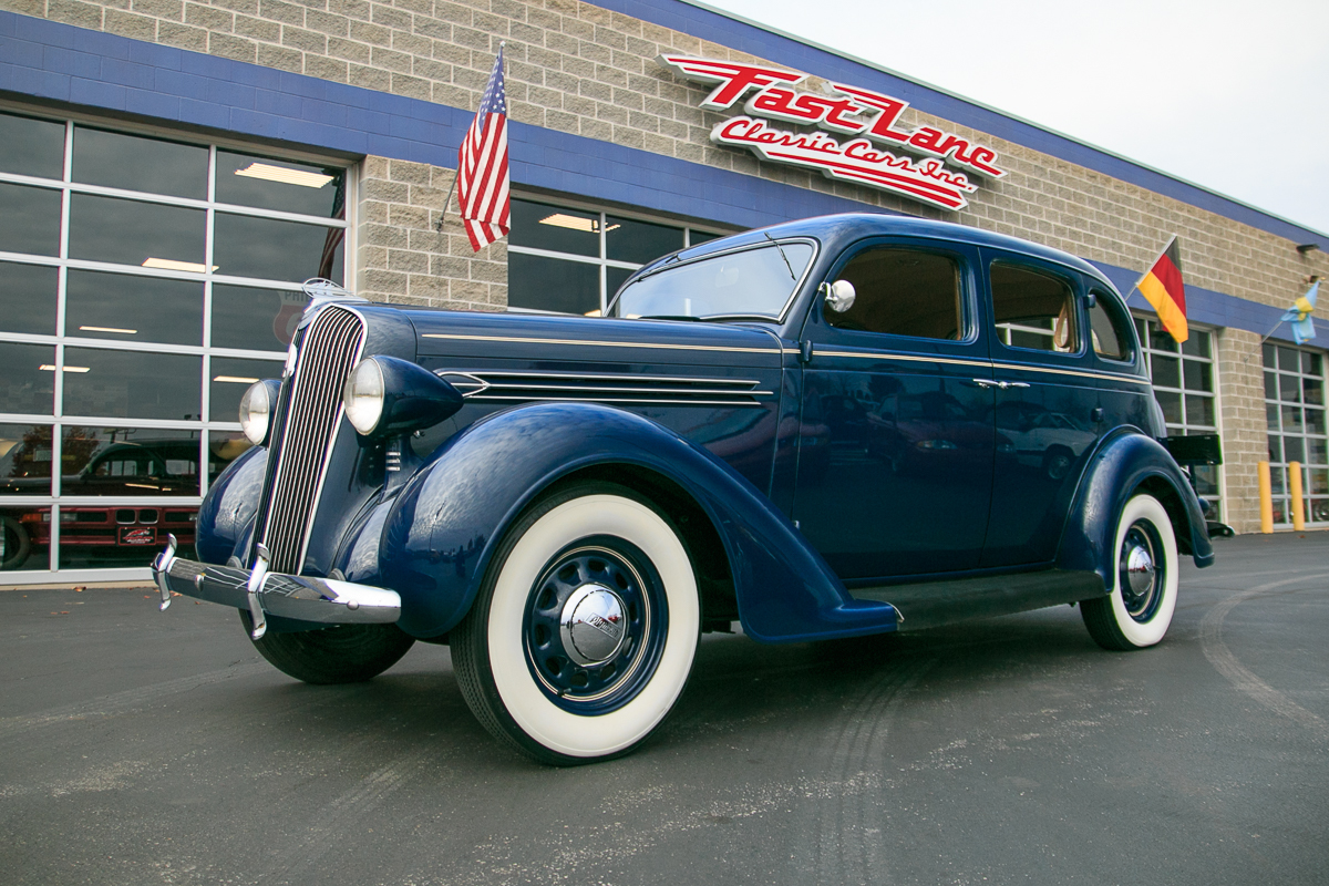 1936 Plymouth 4 Door Touring Sedan