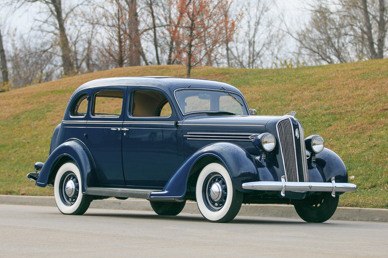 1936 plymouth 4 door touring sedan fast lane classic cars for 1936 plymouth 4 door