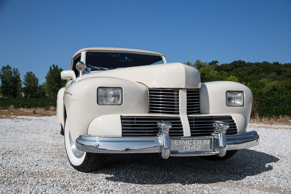 1942 lincoln continental fast lane classic cars. Black Bedroom Furniture Sets. Home Design Ideas