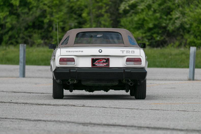 1981 Triumph TR8