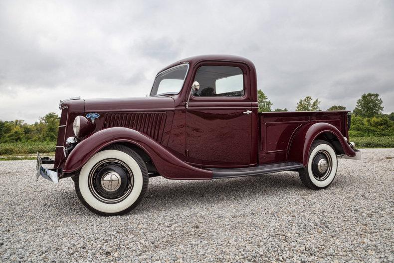 sell new 1936 ford pickup flathead v8 floor shift all