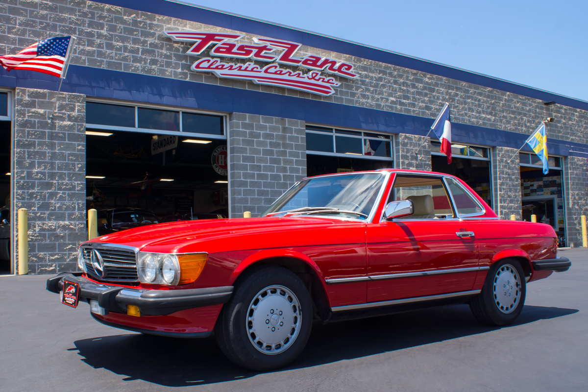1986 mercedes benz 560sl fast lane classic cars for St charles mercedes benz dealership