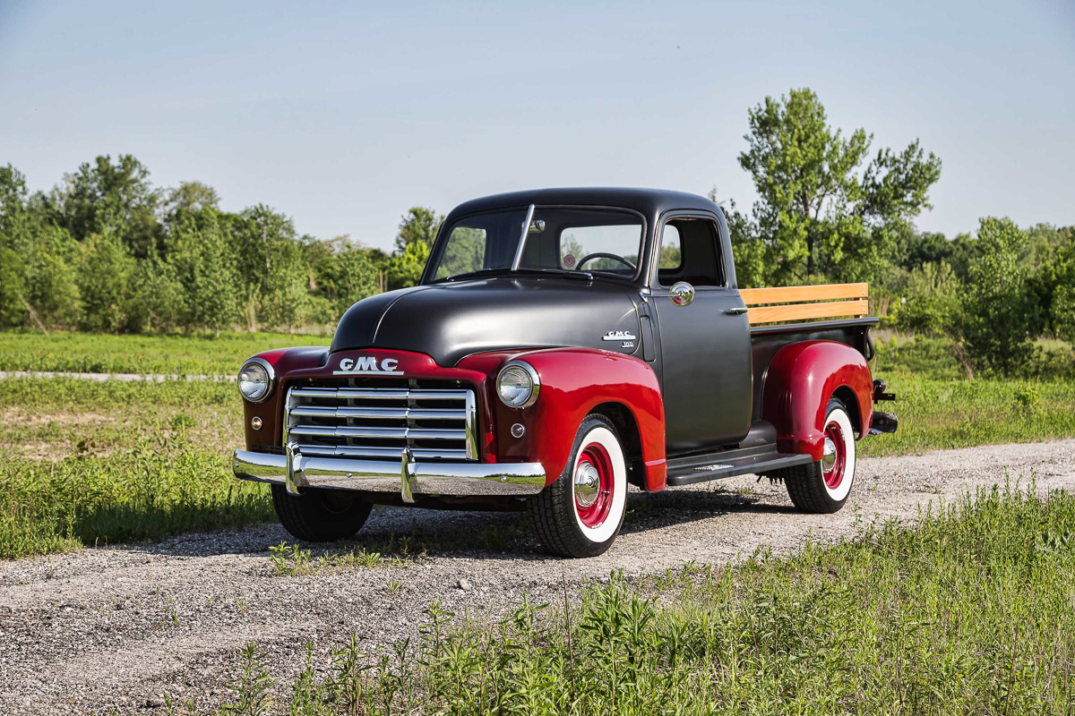 1949 gmc 100 fast lane classic cars. Black Bedroom Furniture Sets. Home Design Ideas