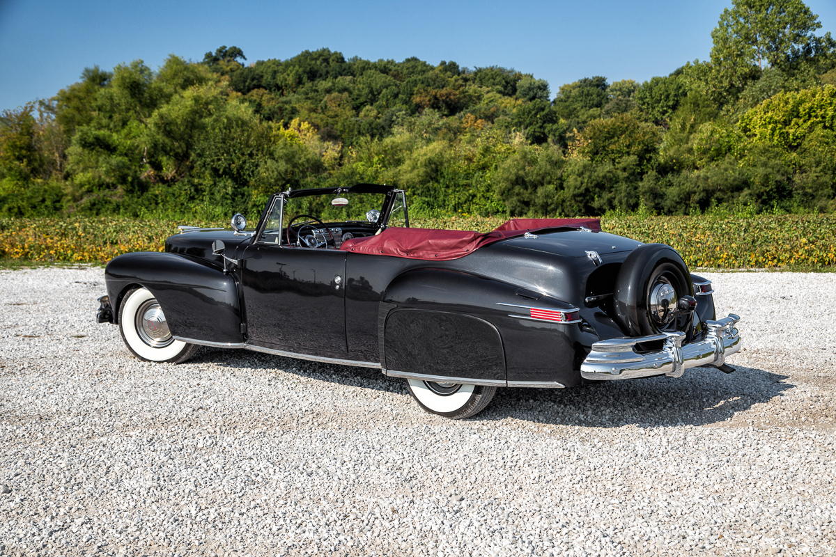 1947 lincoln continental fast lane classic cars. Black Bedroom Furniture Sets. Home Design Ideas