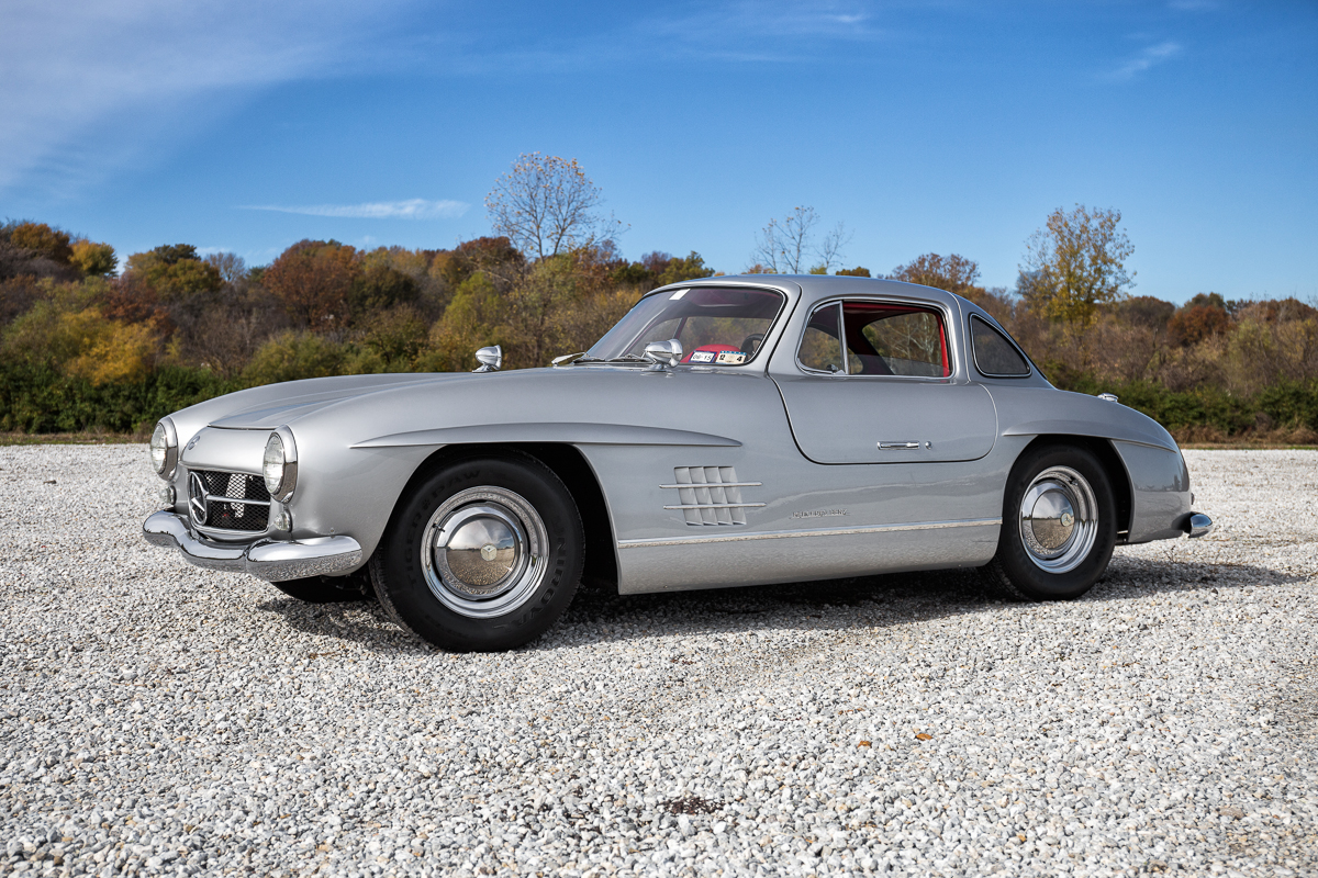 1955 mercedes benz gullwing 300sl replica fast lane for Mercedes benz classics for sale