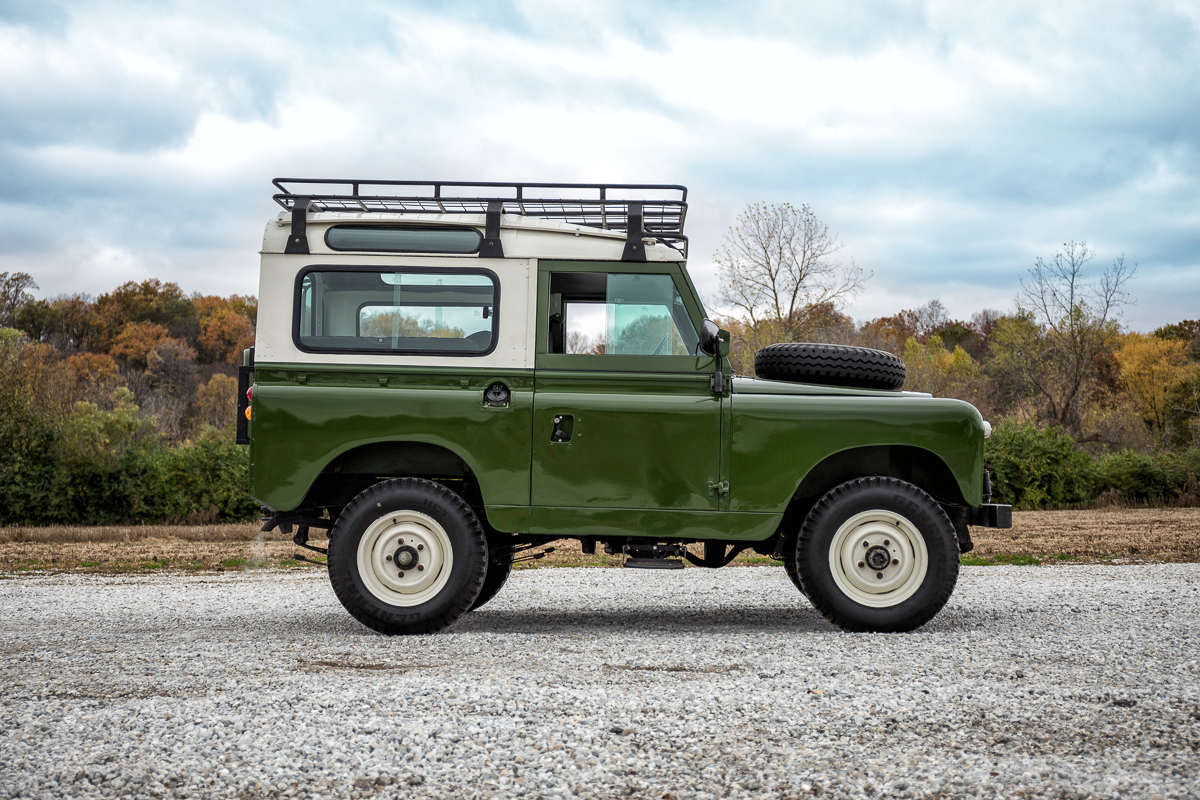 Land Rover Of Columbia >> 1963 Land Rover Santana Series | Fast Lane Classic Cars