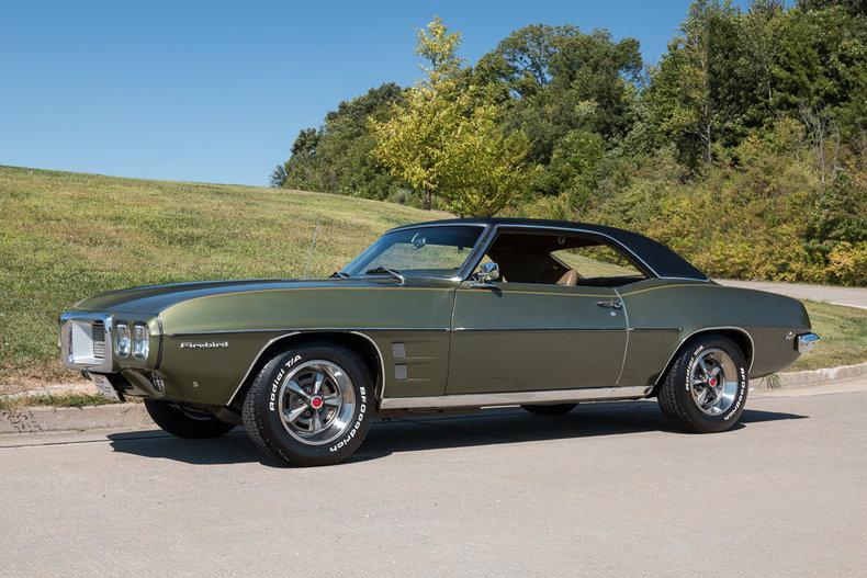 1969 Pontiac Firebird Fast Lane Classic Cars