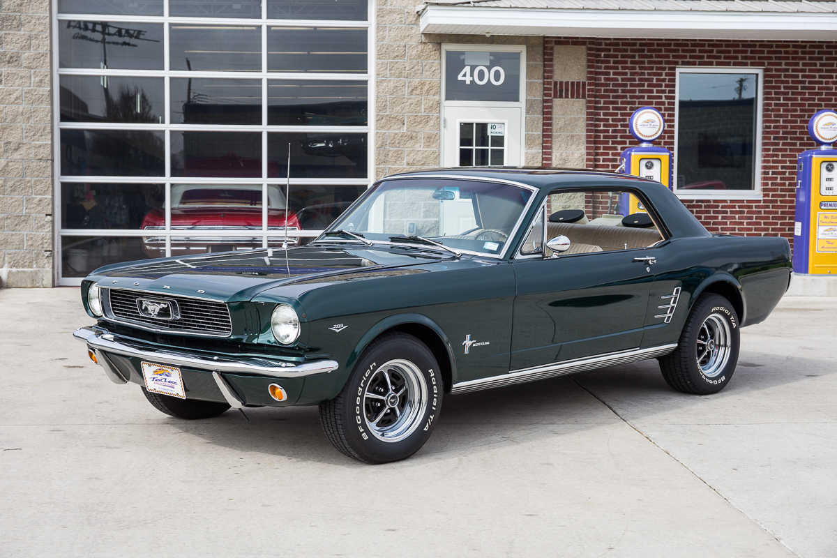 1966 ford mustang fast lane classic cars. Black Bedroom Furniture Sets. Home Design Ideas