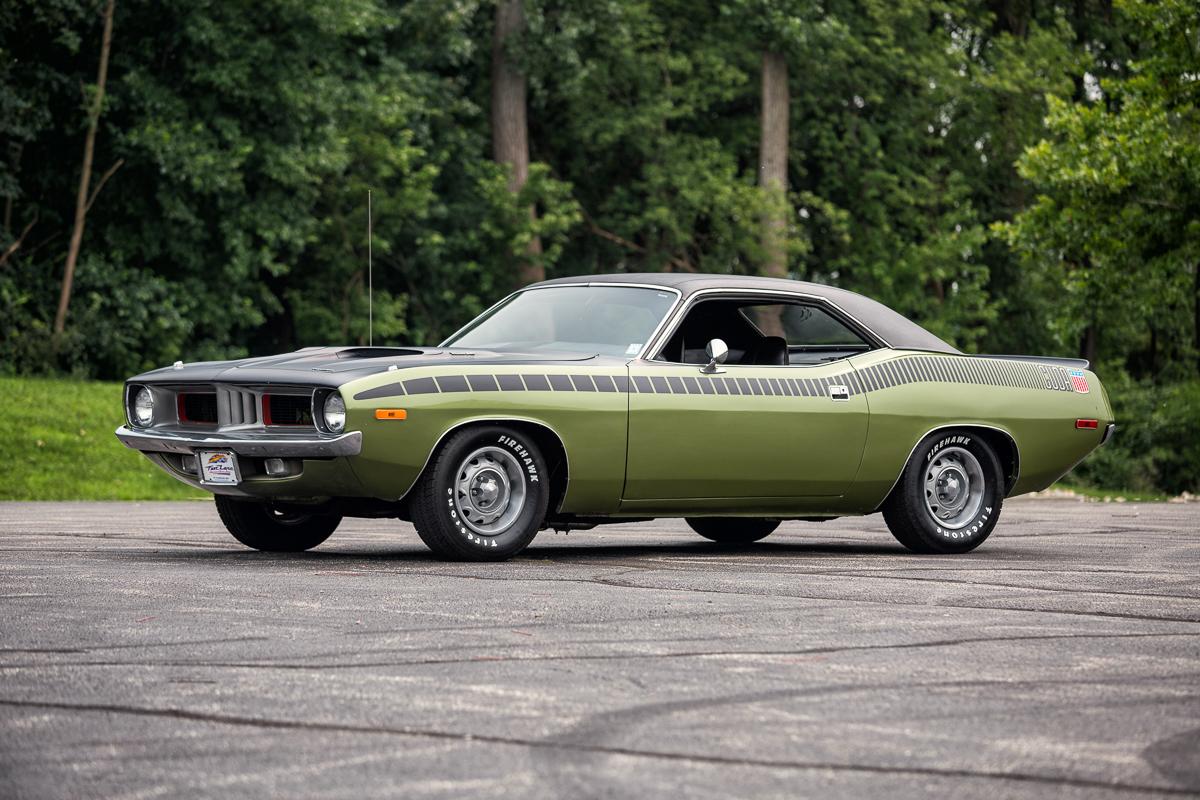 1972 Plymouth Cuda Fast Lane Classic Cars