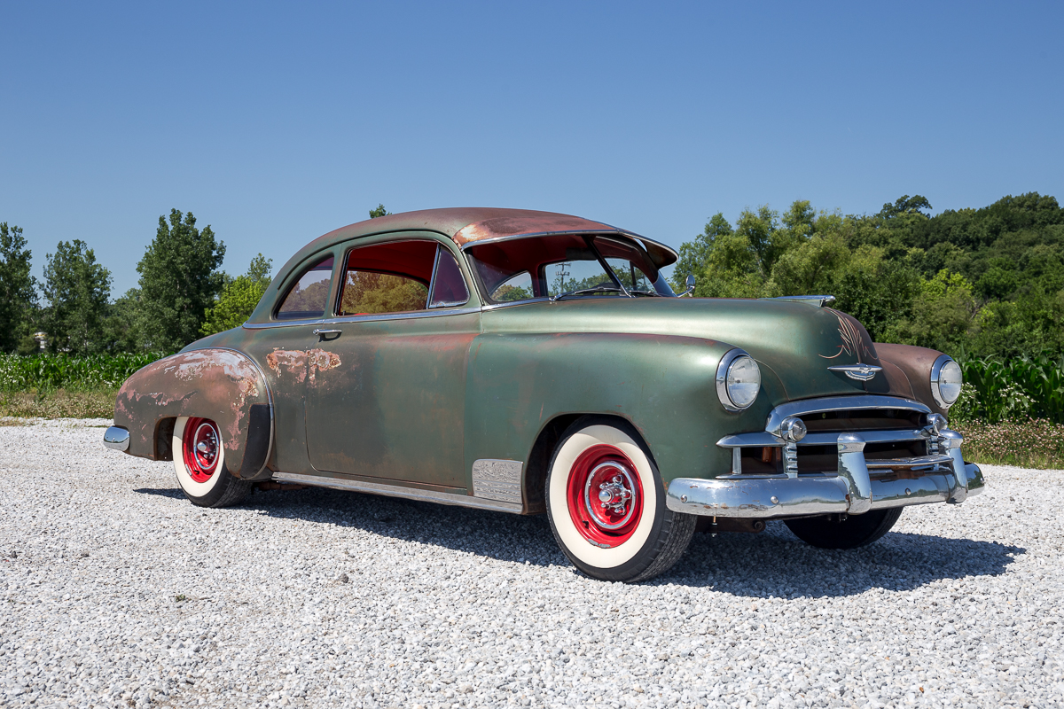 Chevy Volt Custom Wheels >> 1950 Chevrolet Sport Coupe | Fast Lane Classic Cars