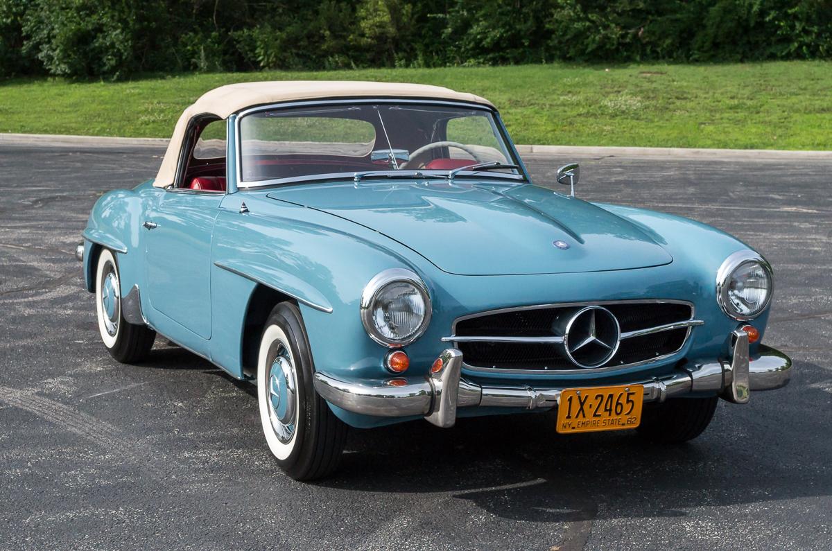 1962 mercedes benz 190sl fast lane classic cars for 1962 mercedes benz