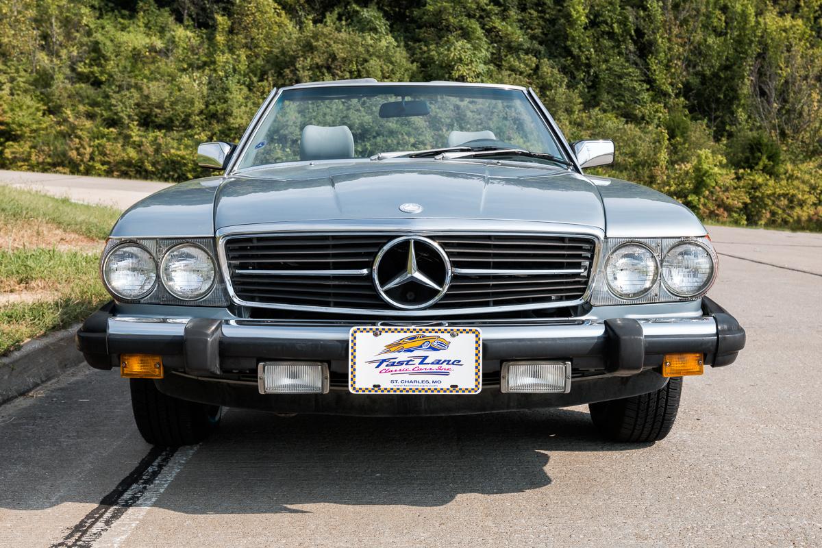1984 mercedes benz 380sl fast lane classic cars for Mercedes benz 380sl