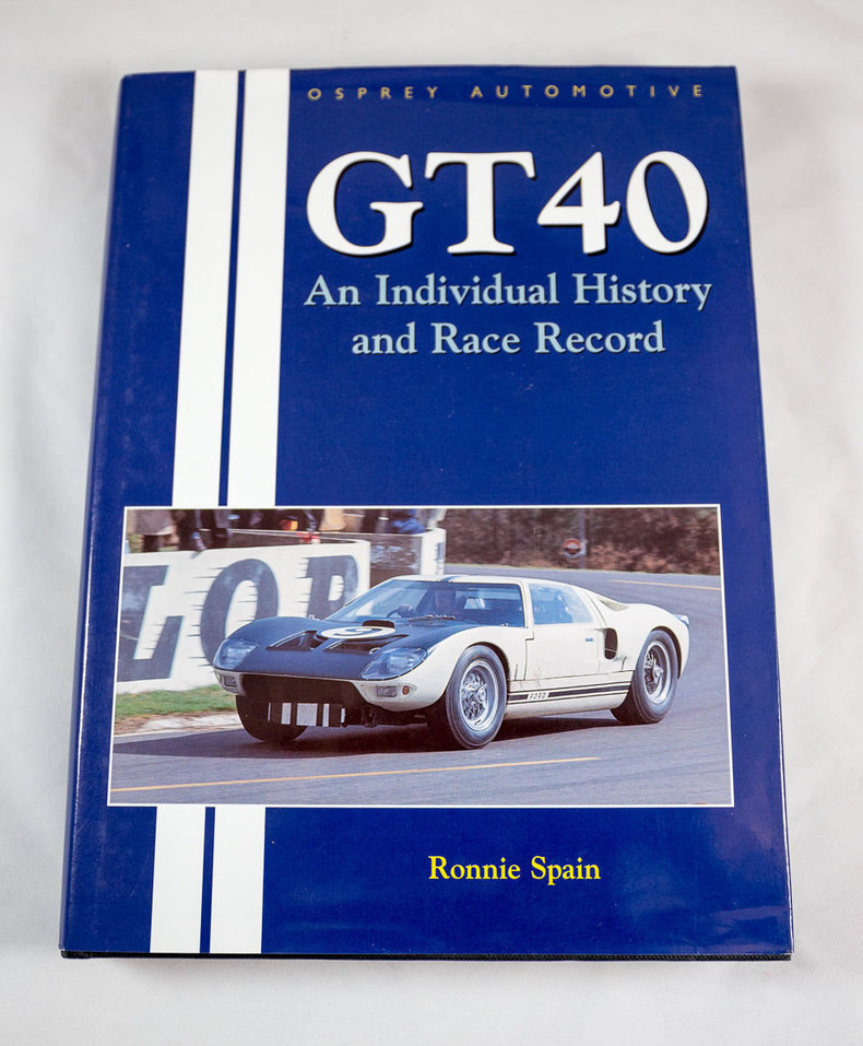 Complete Chassis by Chassis History of Every GT40!