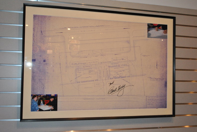 Signed by Carroll Shelby!