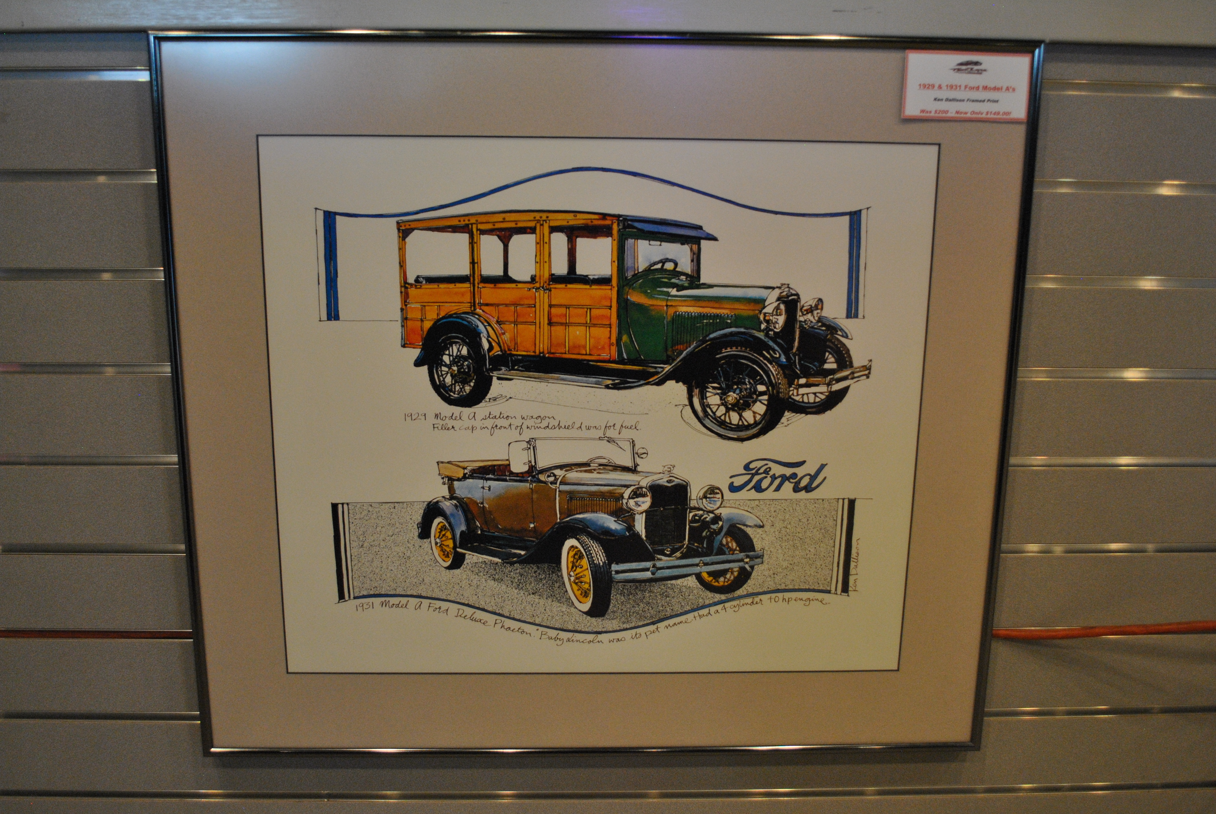 Ford Man Cave Decor : Perfect man cave decor fast lane classic cars