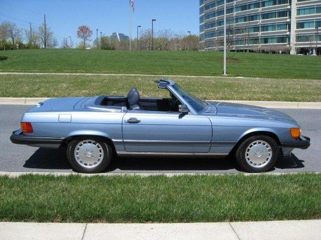 1988 mercedes benz 560sl 1988 mercedes benz 560 for sale for Mercedes benz of tysons corner staff