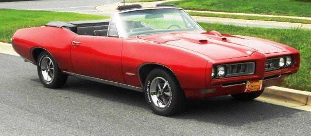 1968 1968 Pontiac GTO For Sale