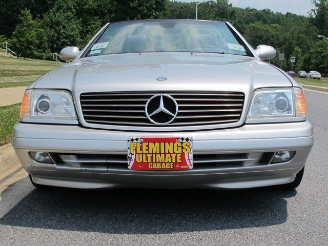 2000 Mercedes Benz Sl500 2000 Mercedes Benz Sl500 For