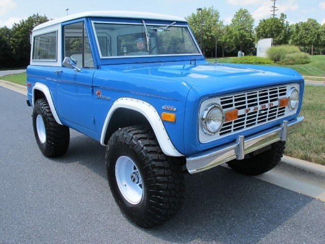 1972 1972 Ford Bronco For Sale
