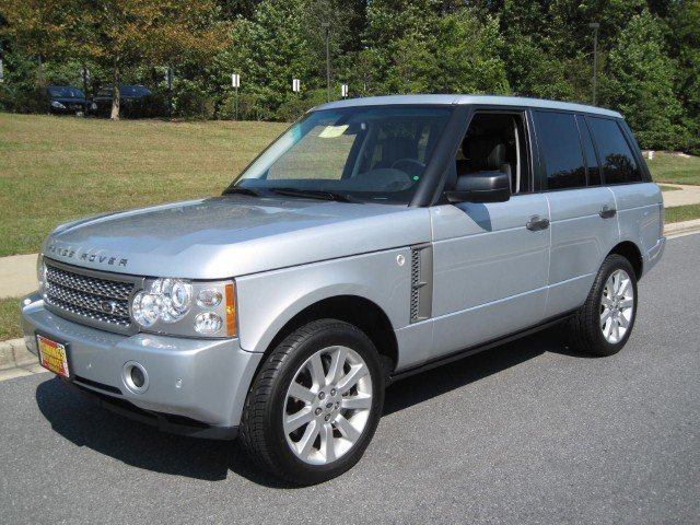 2007 land rover range rover 2007 land rover range rover. Black Bedroom Furniture Sets. Home Design Ideas