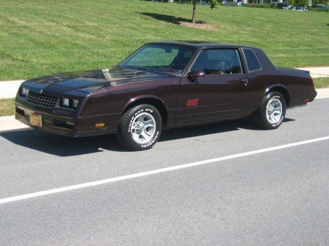 1987 Chevrolet    Monte       Carlo      1987 Chevrolet    Monte       Carlo