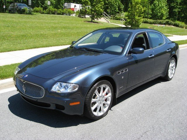 2007 maserati quattroporte 2007 maserati quattroporte for sale to purchase or buy classic. Black Bedroom Furniture Sets. Home Design Ideas