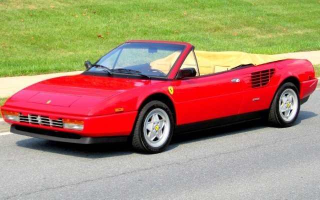 1987 ferrari mondial 1987 ferrari mondial for sale to buy or purchase flemings ultimate. Black Bedroom Furniture Sets. Home Design Ideas