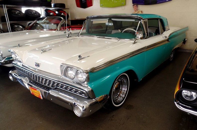 1959 ford skyliner 1959 ford skyliner convertible for for Garage ford 59
