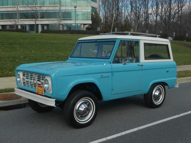 1966 1966 Ford Bronco For Sale