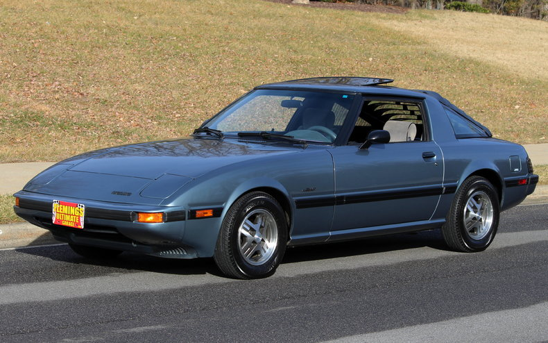 Classic Muscle Cars For Sale >> 1985 Mazda RX-7   1985 Mazda RX7 for sale to buy or purchase   Flemings Ultimate Garage Classic ...