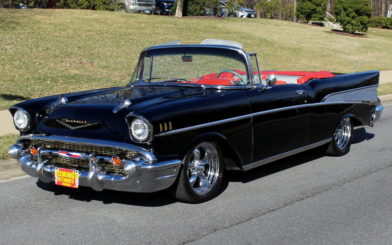 1957 chevrolet bel air 1957 chevrolet bel air for sale to buy or purchase restomod convertible. Black Bedroom Furniture Sets. Home Design Ideas