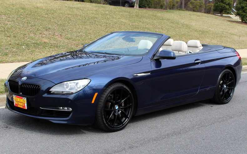 2012 bmw 6 series 2012 bmw 650i convertible v8 twin turbo 8 speed for sale to purchase or buy. Black Bedroom Furniture Sets. Home Design Ideas